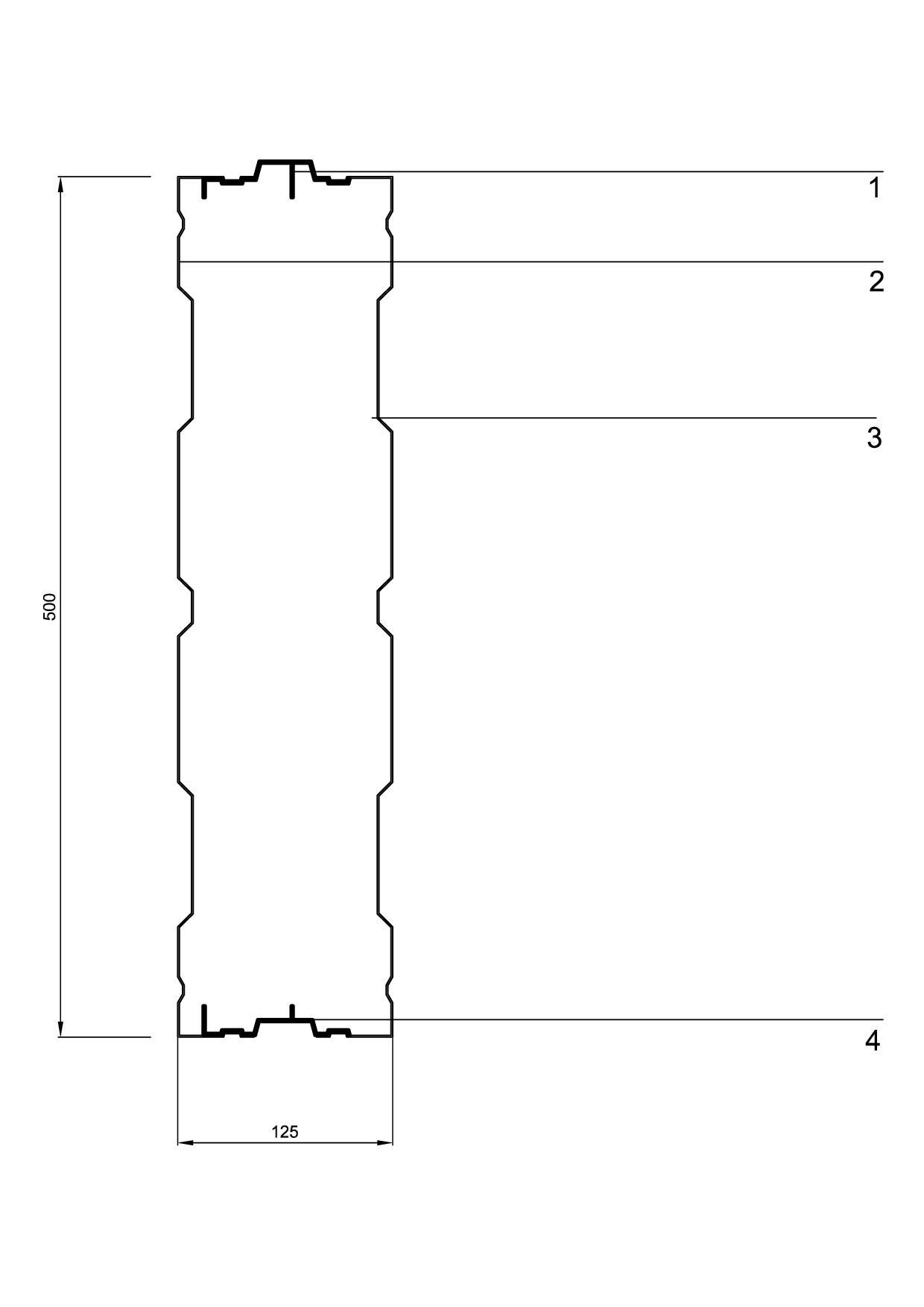 Protihrupni panel AL-3 sestavni deli