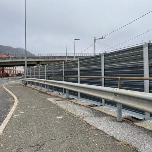 Aluminijska ograja proti hrupu Maribor