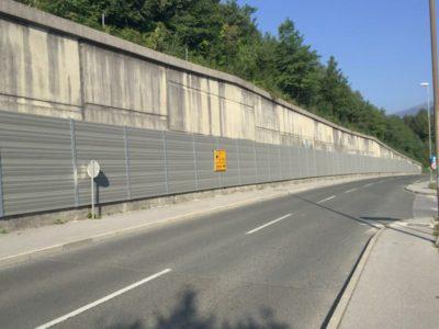 Aluminijska protihrupna ograja Lipce