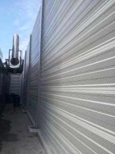 Aluminijski paneli AL 1S protihrupna zascita v industriji