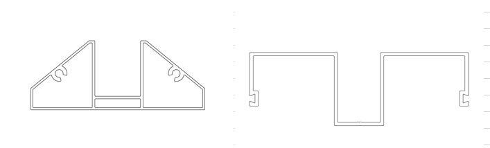 Aluminijski profili transparentnih protihrupnih panelov