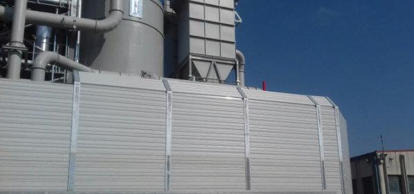 Aluminijski protihrupni paneli Kronospan Hrvaška