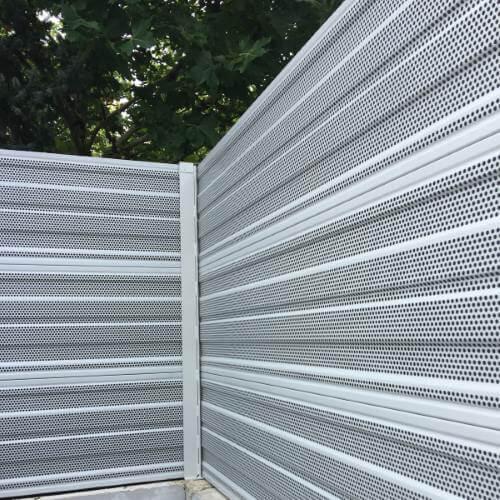 Aluminijski protihrupni paneli za zaščito toplotne črpalke