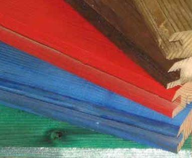 Barve lesenih protihrupnih panelov