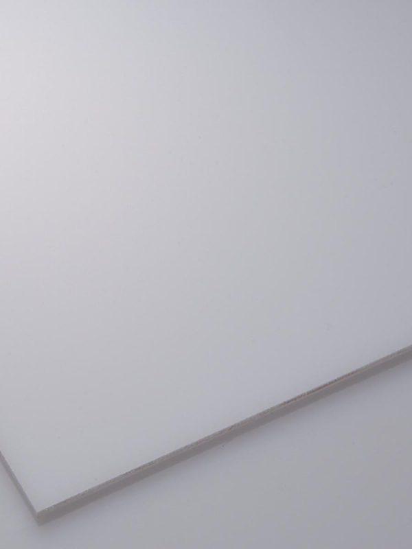 Bele opalne plošče iz polistirena Poliver in Basterglass