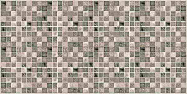 Dekorativna stenska obloga Mozaik siva