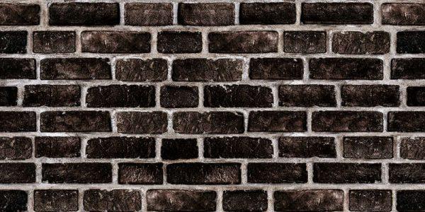 Dekorativna stenska obloga Black wall