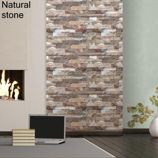 Dekorativne stenske obloge plastonda decor natural stone