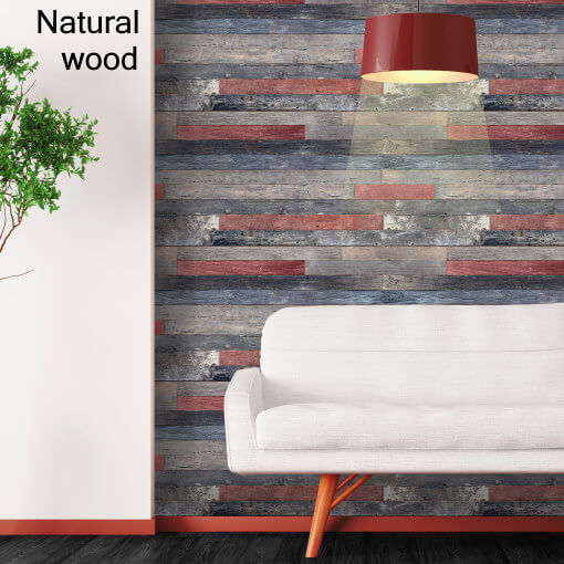Dekorativne zidne obloge plastonda decor natural wood