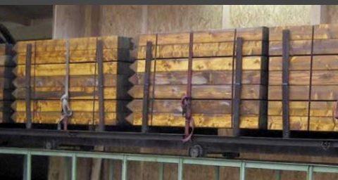Globinska impregnacija lesenih protihrupnih panelov