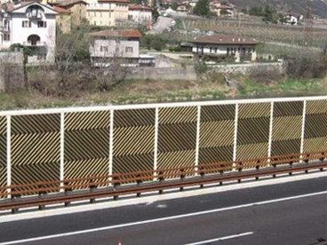Lesene protihrupne ograje