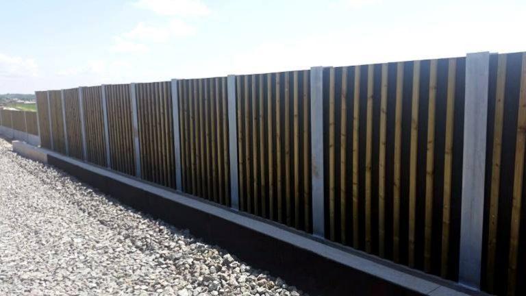 Leseni protihrupni paneli WS1 zeleznica Sveti Ivan Zabno Hrvaska