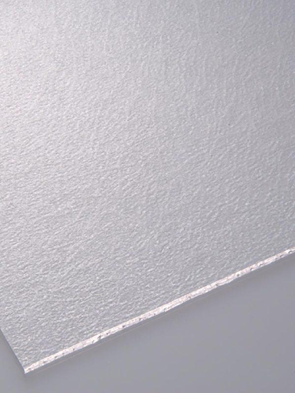 Matirane prozorne polistirenske plošče Poliver mat alaska