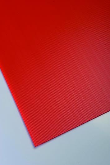 Plastonda rdeca barva