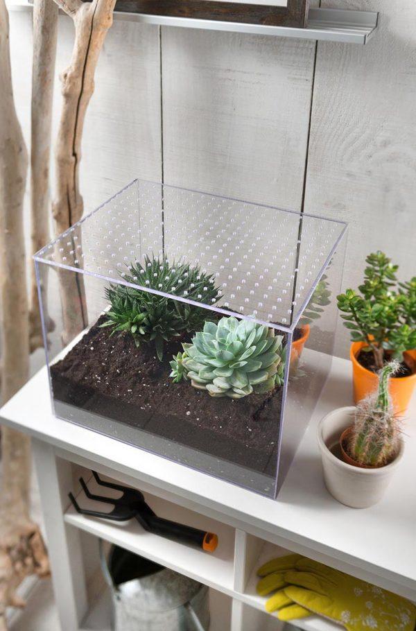 Plošče iz umetnega stekla Poliver za izdelavo terarijev