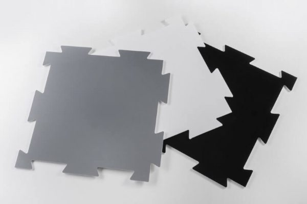 Podloga za-zascito tal Plastonda Floor crna siva bela