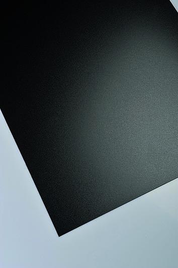 Polne polipropilenske plošče Policolor v črni barvi