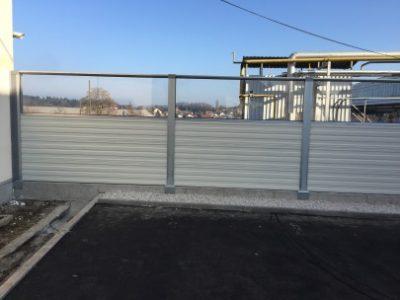 Protihrupna ograja Revoz Novo mesto