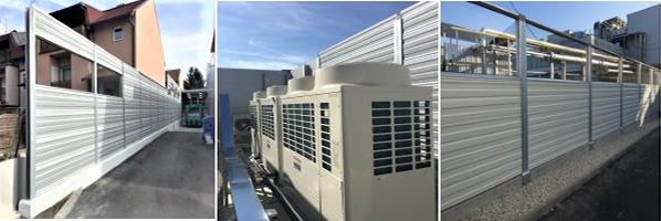 Protihrupna zascita klimatskih in hladilnih naprav