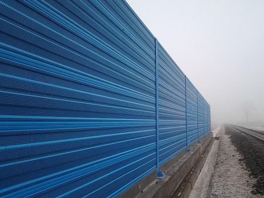 Protihrupni panel AL 1S zeleznica
