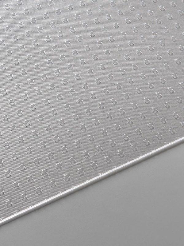 Prozorne polistirenske plosce Poliver kvadrati