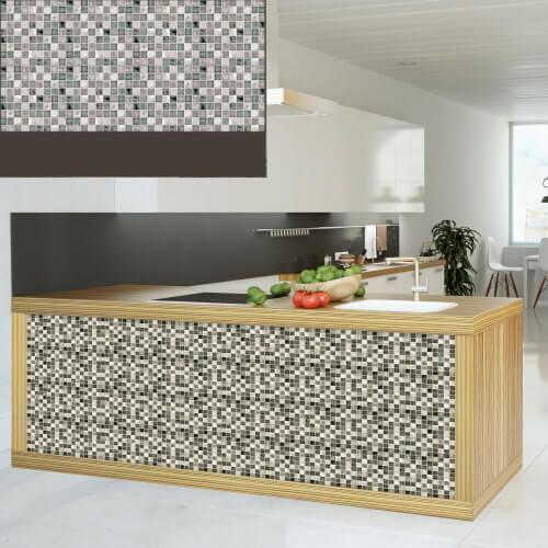Dekorativne stenske obloge Plastonda Decor mozaik siva-kuhinja