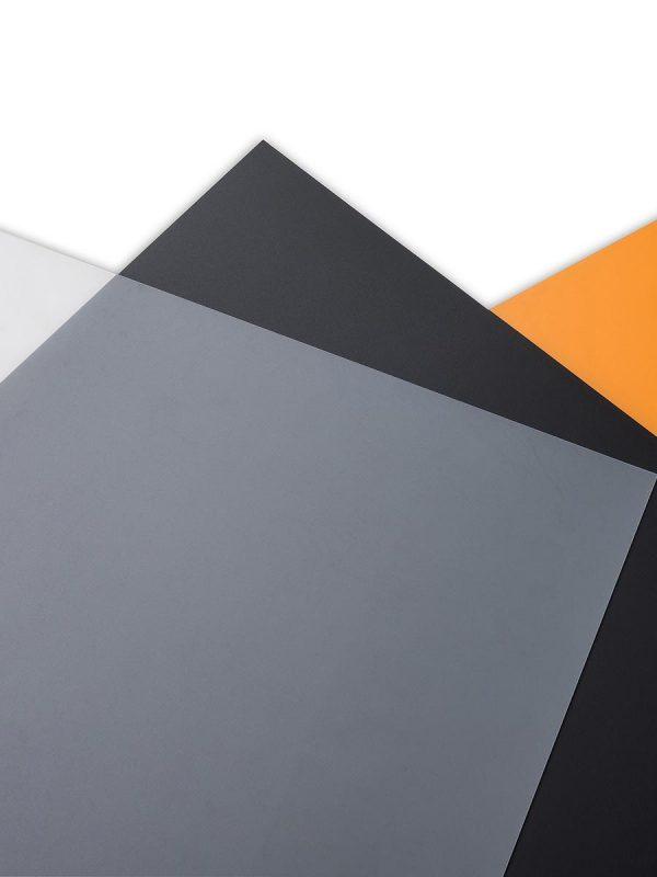 Polne polipropilenske plošče Policolor v treh barvah