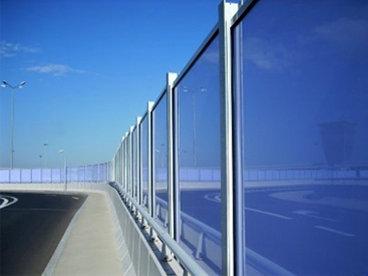 Transparentne protihrupne ograje