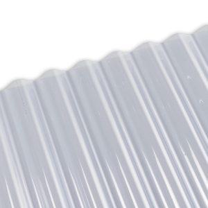 prozorne valovite plošče za kritino Polikril