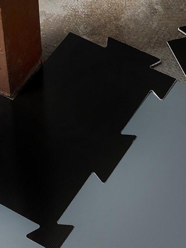 Vgradnja začasne zascite tal Plastonda Floor