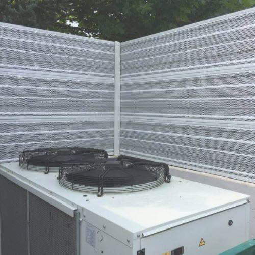 Začita proti hrupu ki ga povzroča toplotna črpalka