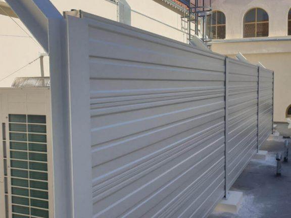 Zmanjšanje hrupa toplotnih črpalk koncertna dvorana Split