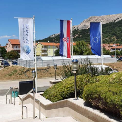 Zmanjšanje hrupa toplotnih črpalk hotel Corinthia Krk
