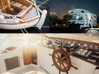 Komponente za navticno in karavan industrijo