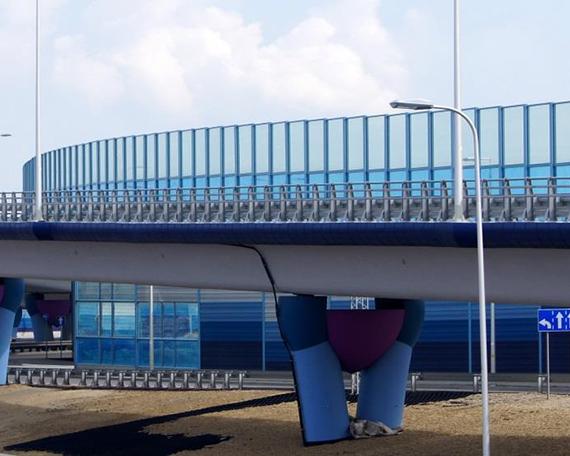Protihrupne ograje na cestah in železnicah