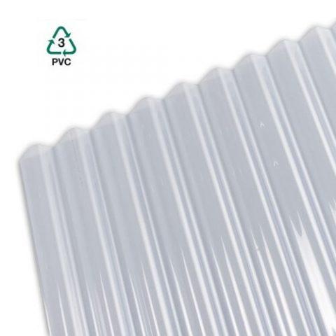 PVC prozorna valovita kritina Polikril