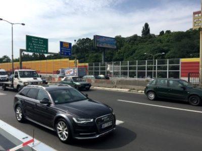 Transparentna protihrupna ograja Hitna pomoc v Beogradu